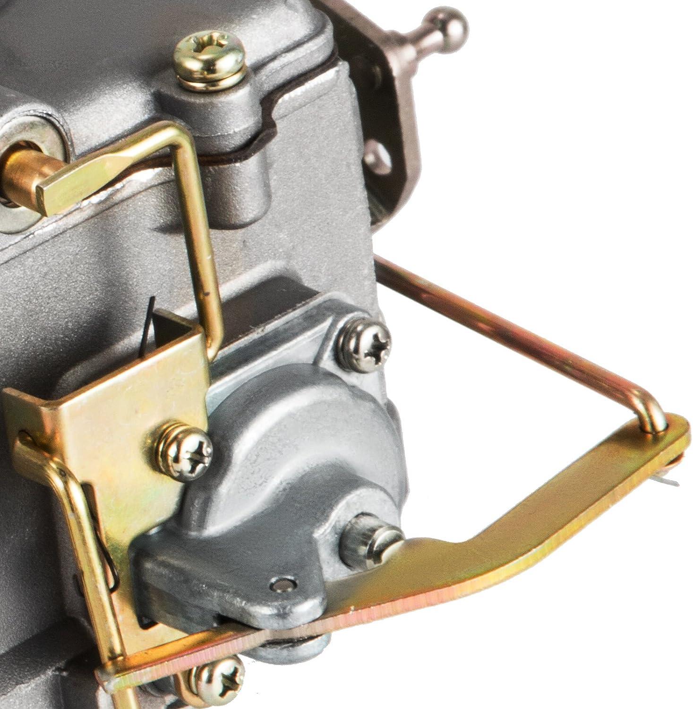 for Ford F100 F250 F350 Mophorn Carburetor Heavy Duty 2100 2 Barrel Carburetor for F100 F250 F350 Mustang Engine 289 302 351 for JEEP 360 Carburetor
