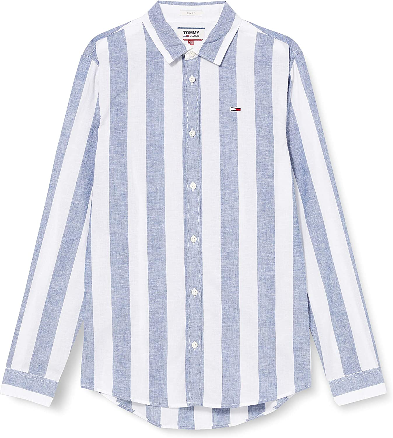 Tommy Hilfiger TJM Longsleeve Linen Blend Shirt Camisa para Hombre: Amazon.es: Ropa y accesorios