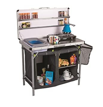 Kampa Chieftain Portable Camping Kitchen: Amazon.co.uk: Sports ...