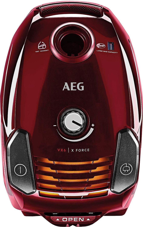 60/% Reciclado 74 dB AEG VX6-2-/ÖKOX Aspirador Trineo 3,5 L Negro,Eco y sostenible 700 W