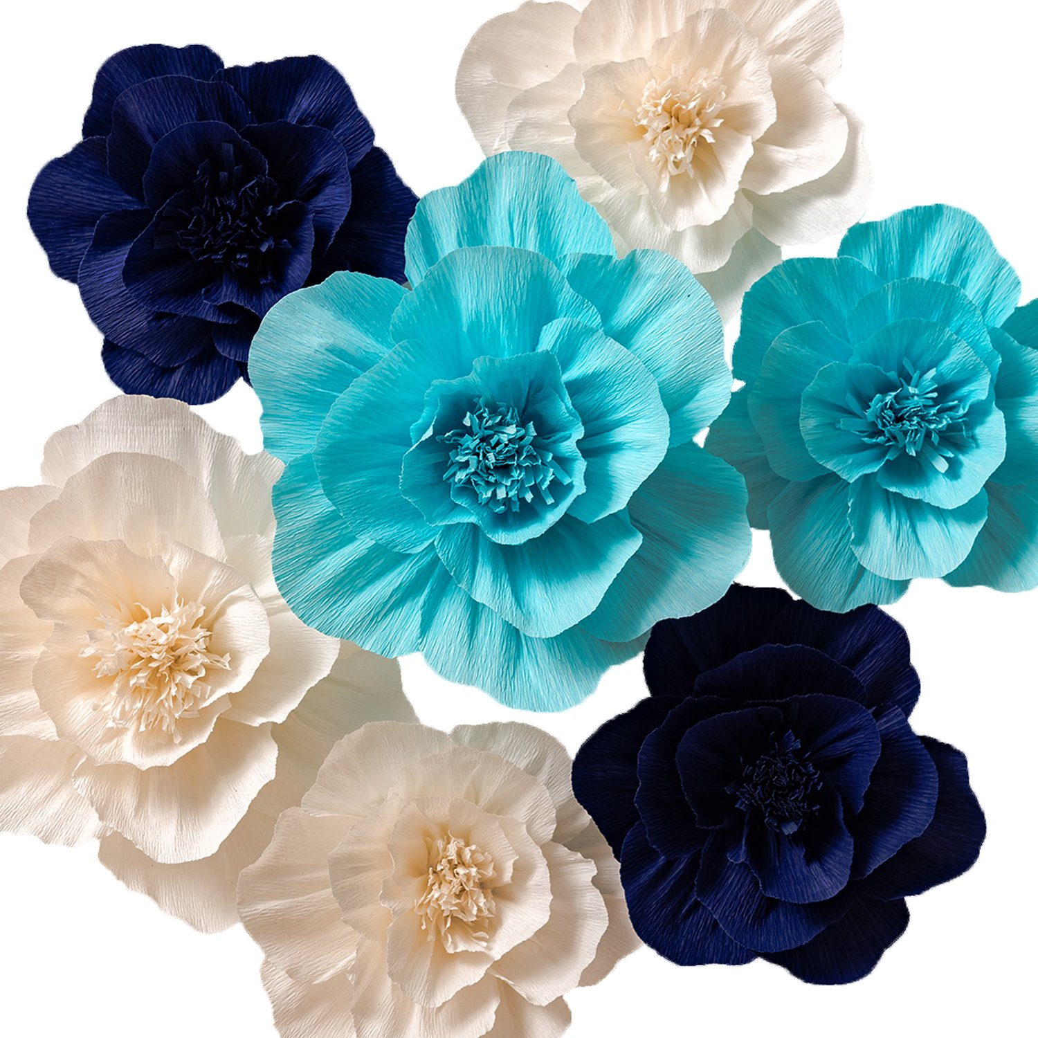 Key Spring Paper Flower Decorations Crepe Paper Flowers Giant