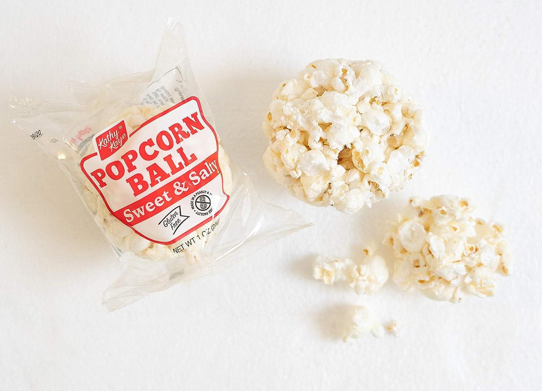 Amazon Com Kathy Kaye Popcorn Ball Everyday Sweet N Salty 1 00 Ounce Pack Of 24