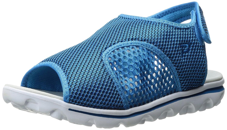 Propet Women's TravelActiv Ss Sandal B01IODCY1C 11 2E US|Blue/Black
