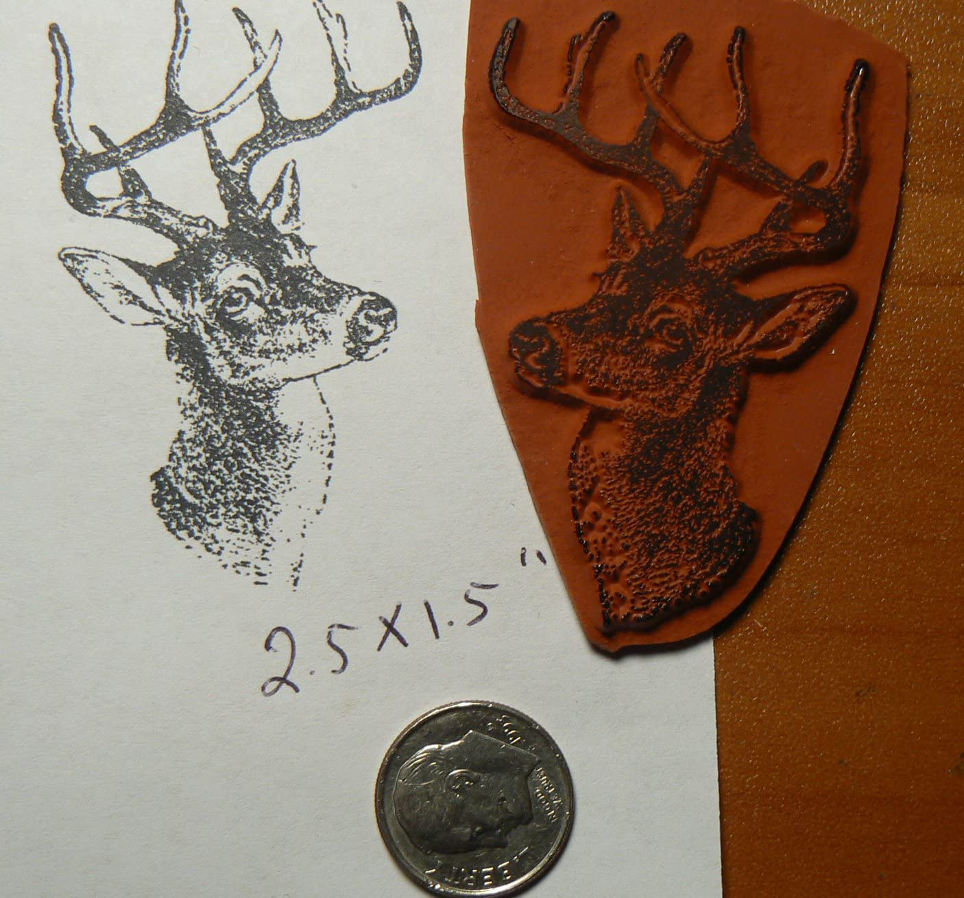 Deer Rubber Stamp P51