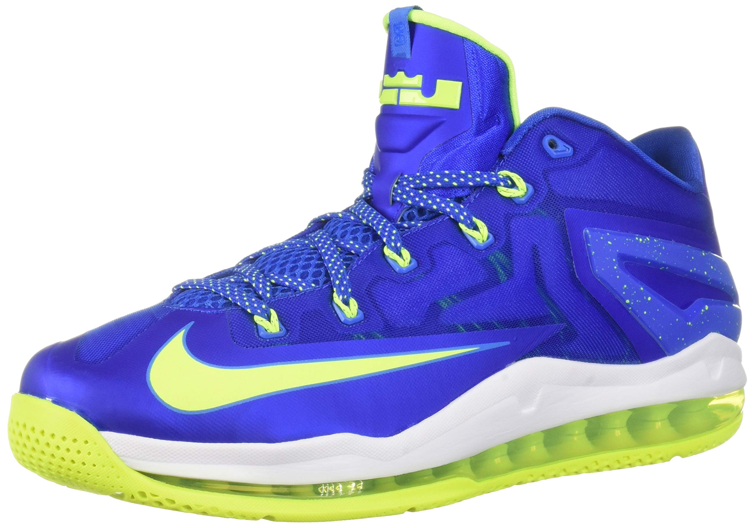 dbe13f42e087b0 Galleon - NIKE Max Lebron XI Low Men Sneakers Hyper Cobalt White Photo  Blue Volt 642849-471 (SIZE  11.5)