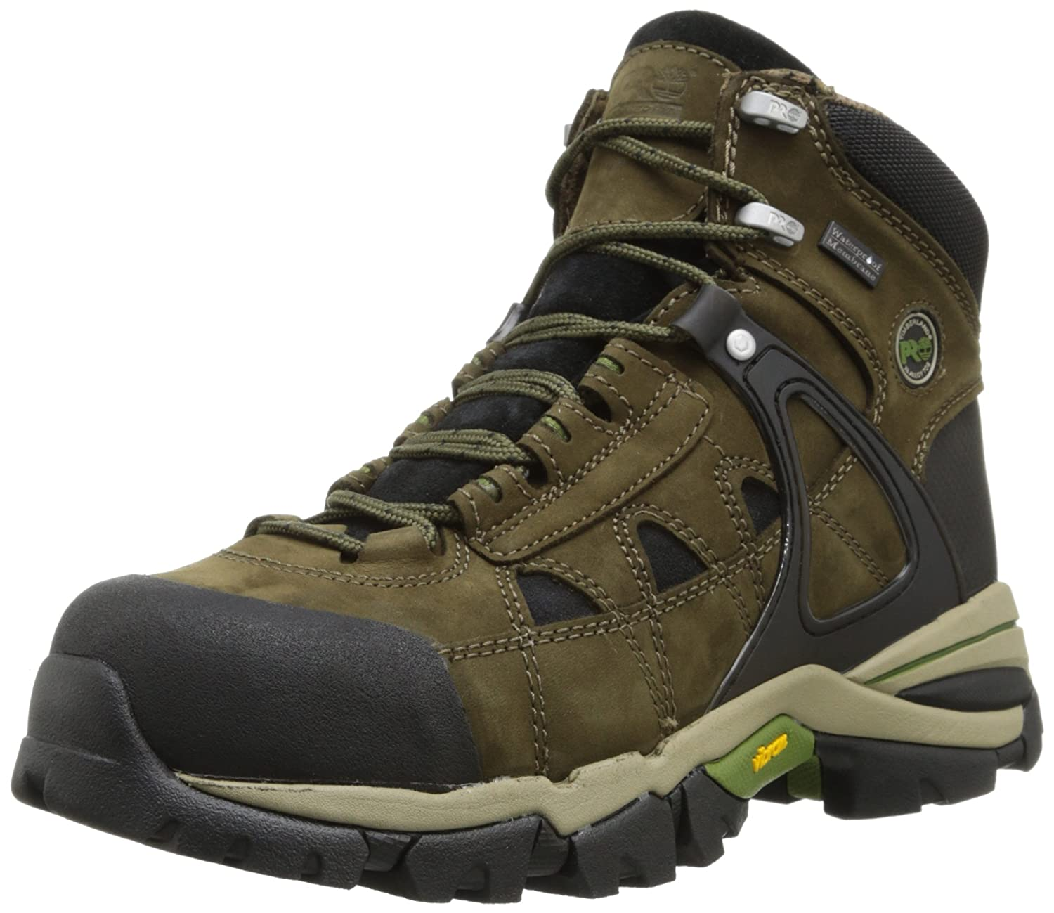 3921817c10e Amazon.com: Timberland PRO Men's Hyperion Waterproof Safety-Toe Work ...