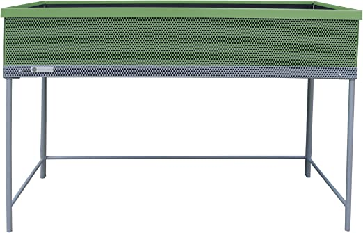Huerto urbano de metal Green Passion 120x57x80 cm.Color verde ...