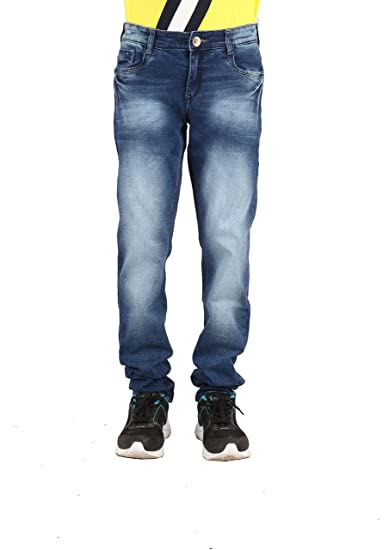d1c03f7e768 Infection Light blue Washed Slim Fit Jeans For Men (1 Jeans): Amazon.in:  Clothing & Accessories