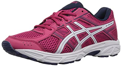 ASICS Unisex-Kids Gel-Contend 4 GS Running Shoe, Cosmo Pink/White