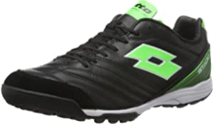 Amazon.com: Lotto Mens Stadio 300 ID Soccer Sneakers, Black ...