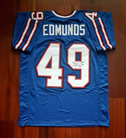 0c1fed04e Tremaine Edmunds Autographed Signed Jersey Buffalo Bills JSA at ...