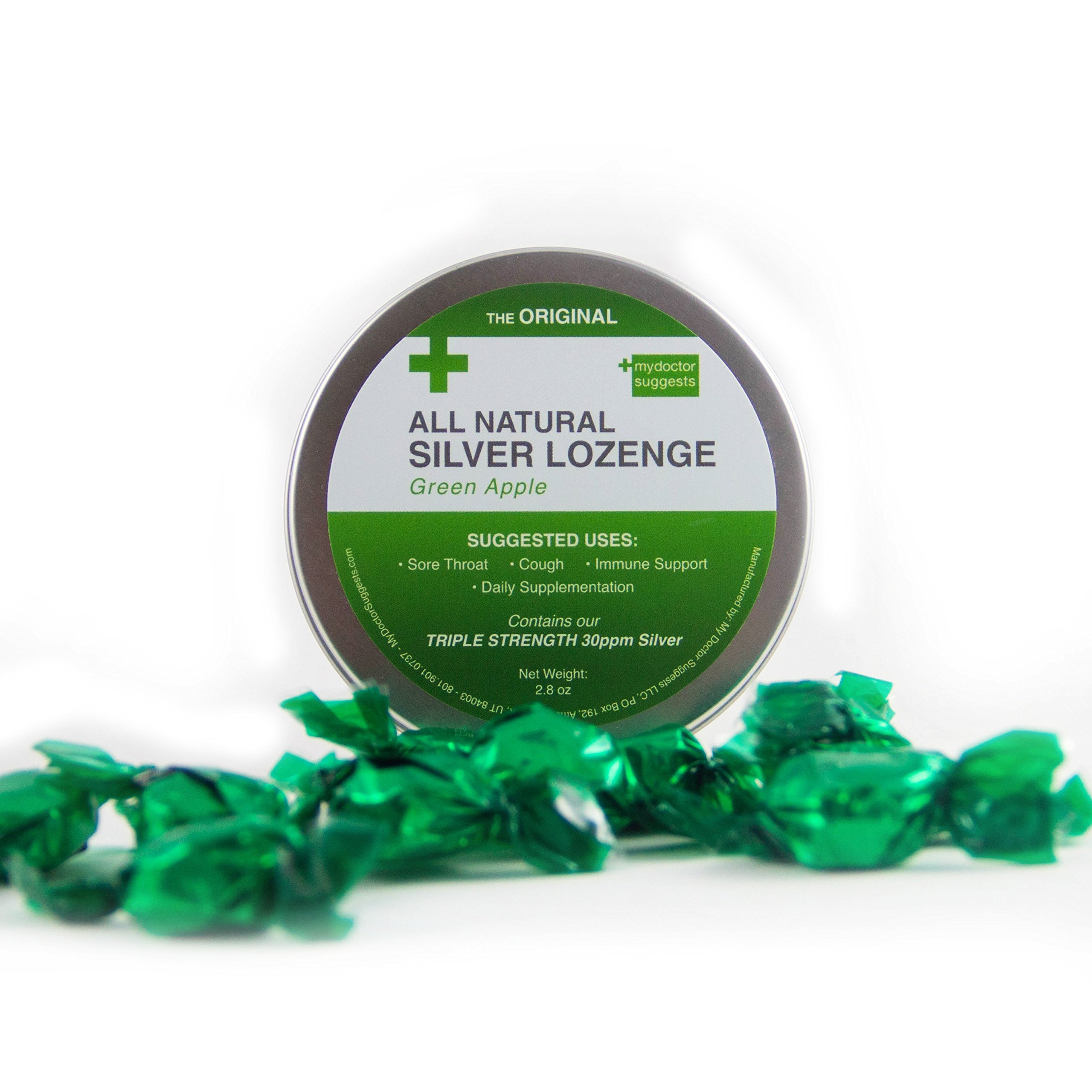 Amazon Original All Natural Silver Lozenges Variety Pack The