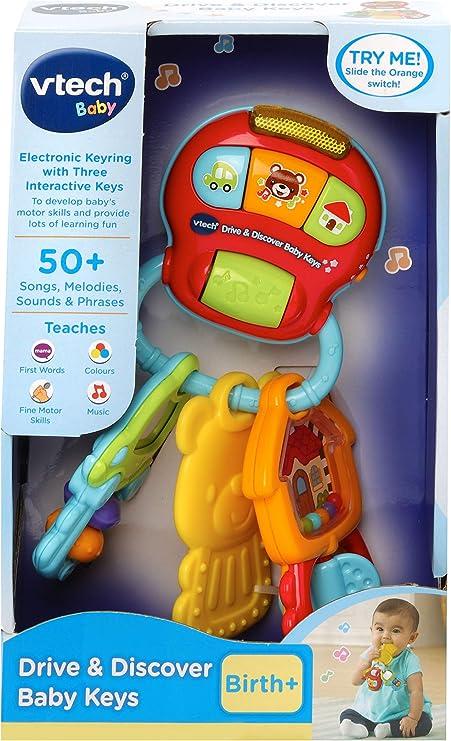 Amazon.com: VTech Drive & Discover Baby Keys: Toys & Games