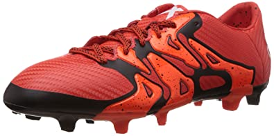 adidas Performance X15.3 FG/AG, Chaussures de Football Homme - Rouge -