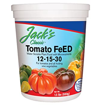 Best Fertilizer to Increase Fruiting Quantity and Quality: Jack's Classic Tomato Fertilizer