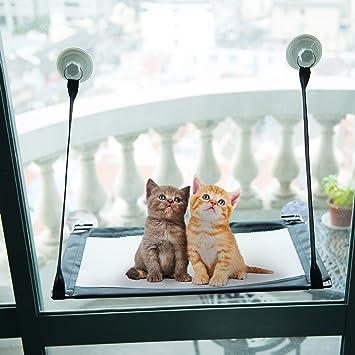 co z kitty window mount cat window perches resting hammock  breathable pet window perch amazon     co z kitty window mount cat window perches resting      rh   amazon