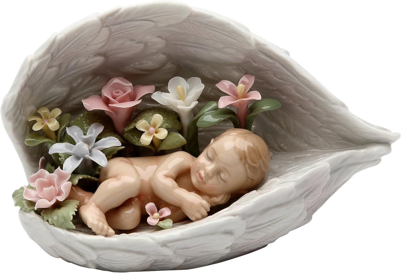Ceramic figurine angel Gift for baby