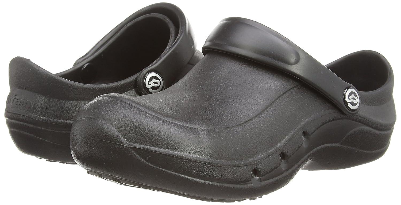 Toffeln - Zapatillas para hombre, color blanco, talla 12 UK
