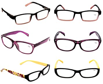 25a70be2266 Clearance Lot 3 Pack Optical READING GLASSES Fashionable Ladies EYEGLASSES  Women s Styles Plastic +1.75