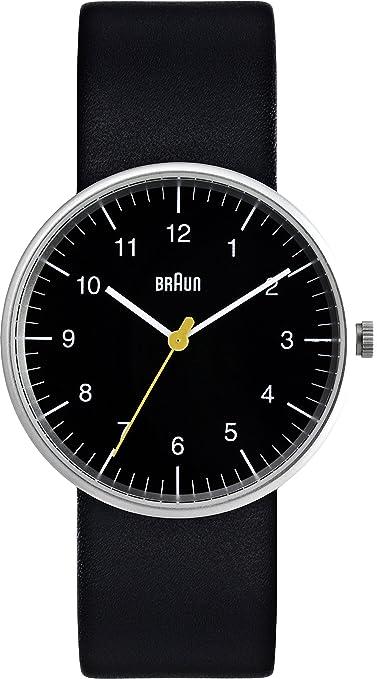 Braun BN0021BKBKG Reloj analógico de cuarzo