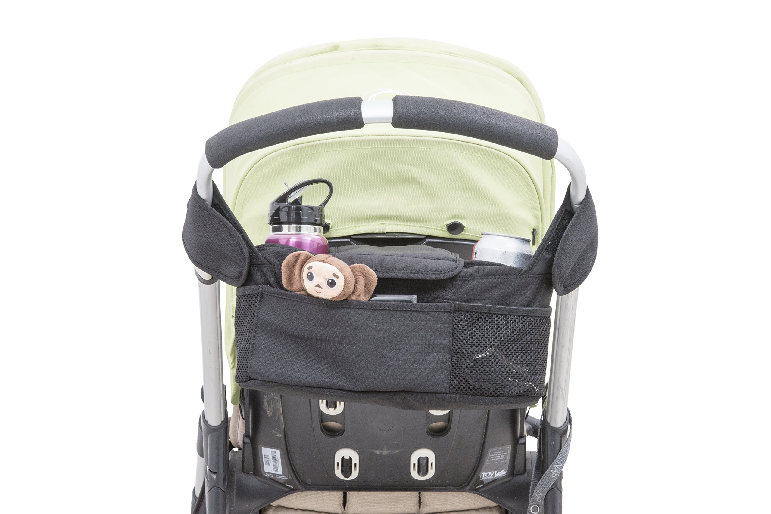 Quality Choices Universal Baby Stroller Organizer with Cup Holder and Two Hooks by Quality Choices (Image #3)