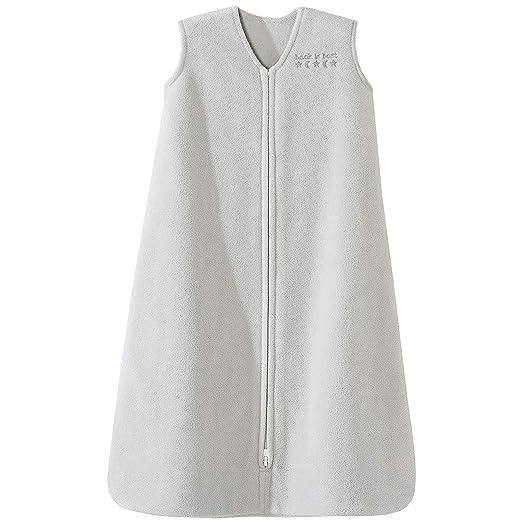 Halo Sleepsack Micro-Fleece Wearable Blanket, Gray, Small