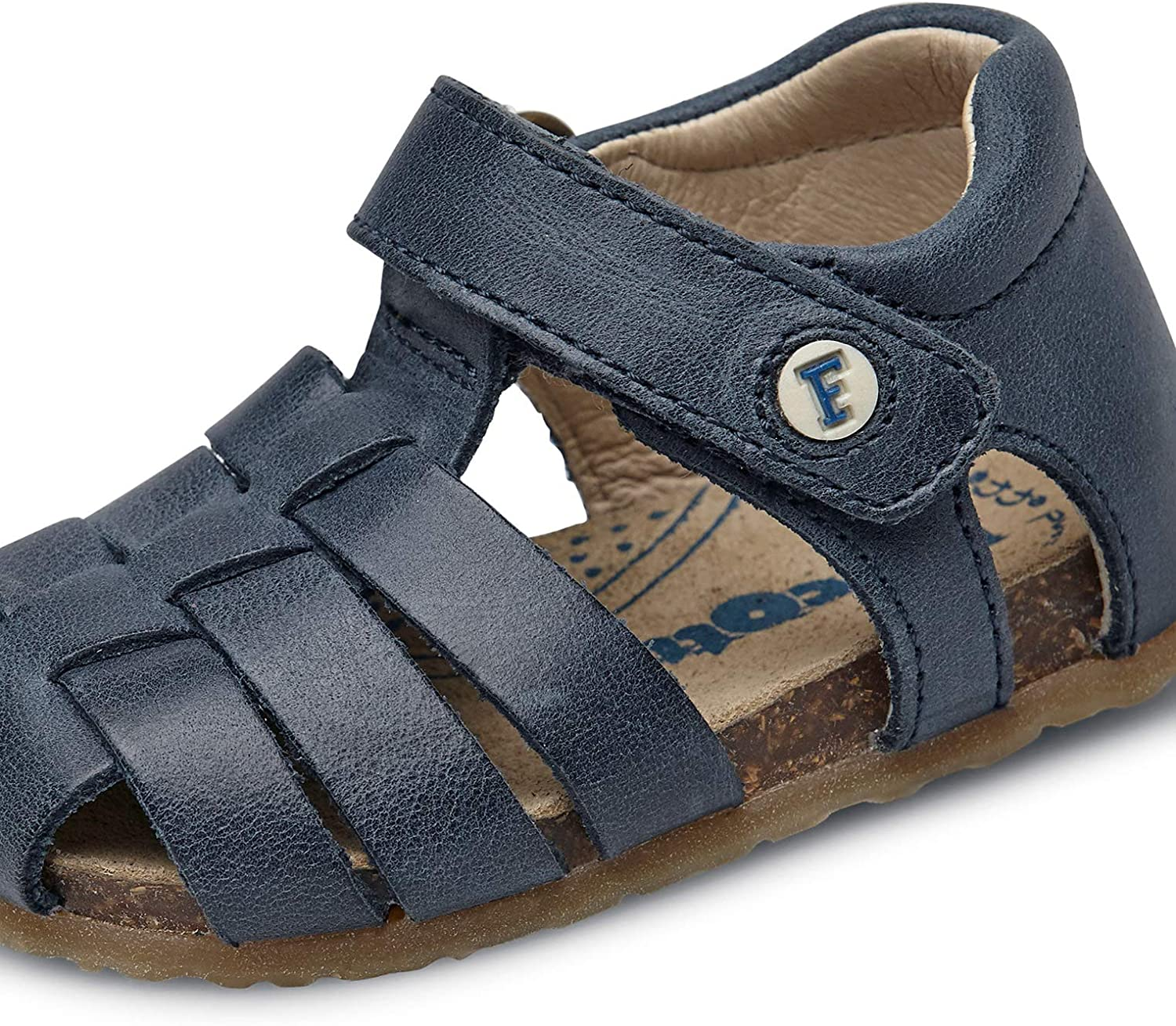 Falcotto Alby-Closed-Toe Fisherman Leather Sandals