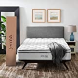"Modway Jenna 14"" Quilted Pillow Top California King Encased Pocket Coil Innerspring Mattress"