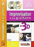 Devignac Emmanuel Improvisation A La Guitare En 3D Gtr Bk/Cd/Dvd Fre