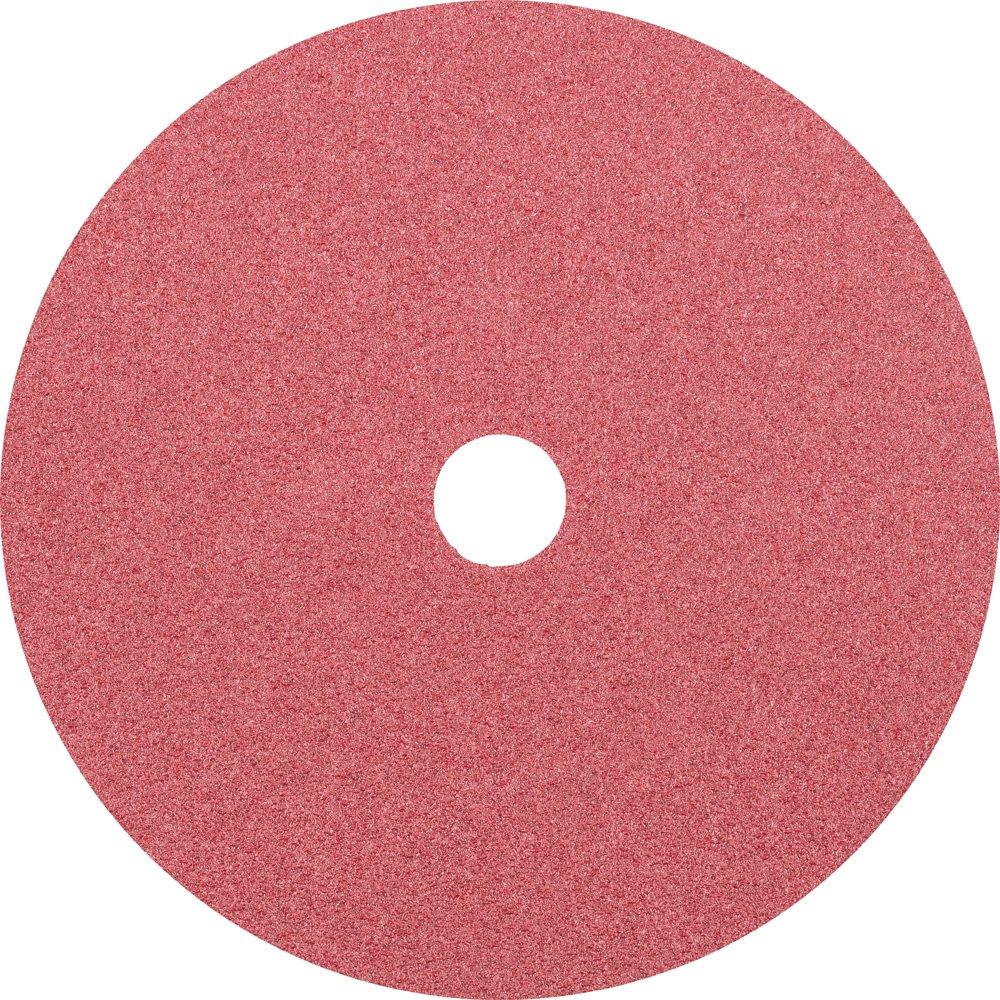 8500 RPM 7//8 Arbor Hole 7 Diameter PFERD 62746 Fibre Disc Pack of 25 Ceramic Oxide CO 60 Grit