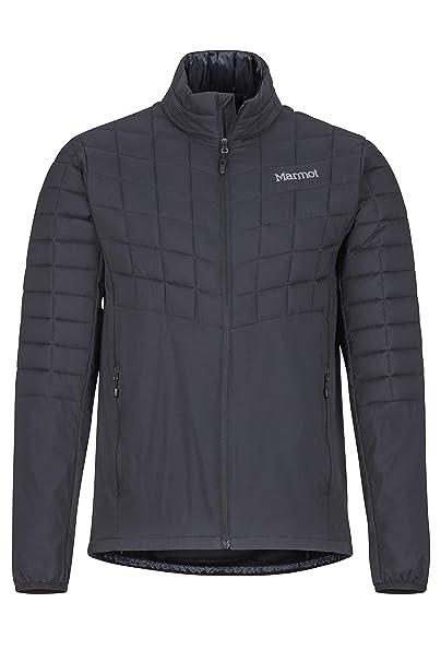 Marmot Featherless Hybrid Jacket Chaqueta Senderismo Forrada, al Aire Libre, Anorak, Repelente al Agua, a Prueba de Viento, Hombre
