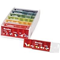 Anabox Weekly Pill Organiser - Rainbow