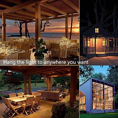 Vela Solar Linterna impermeable LED parpadeante Velas sin llama ...