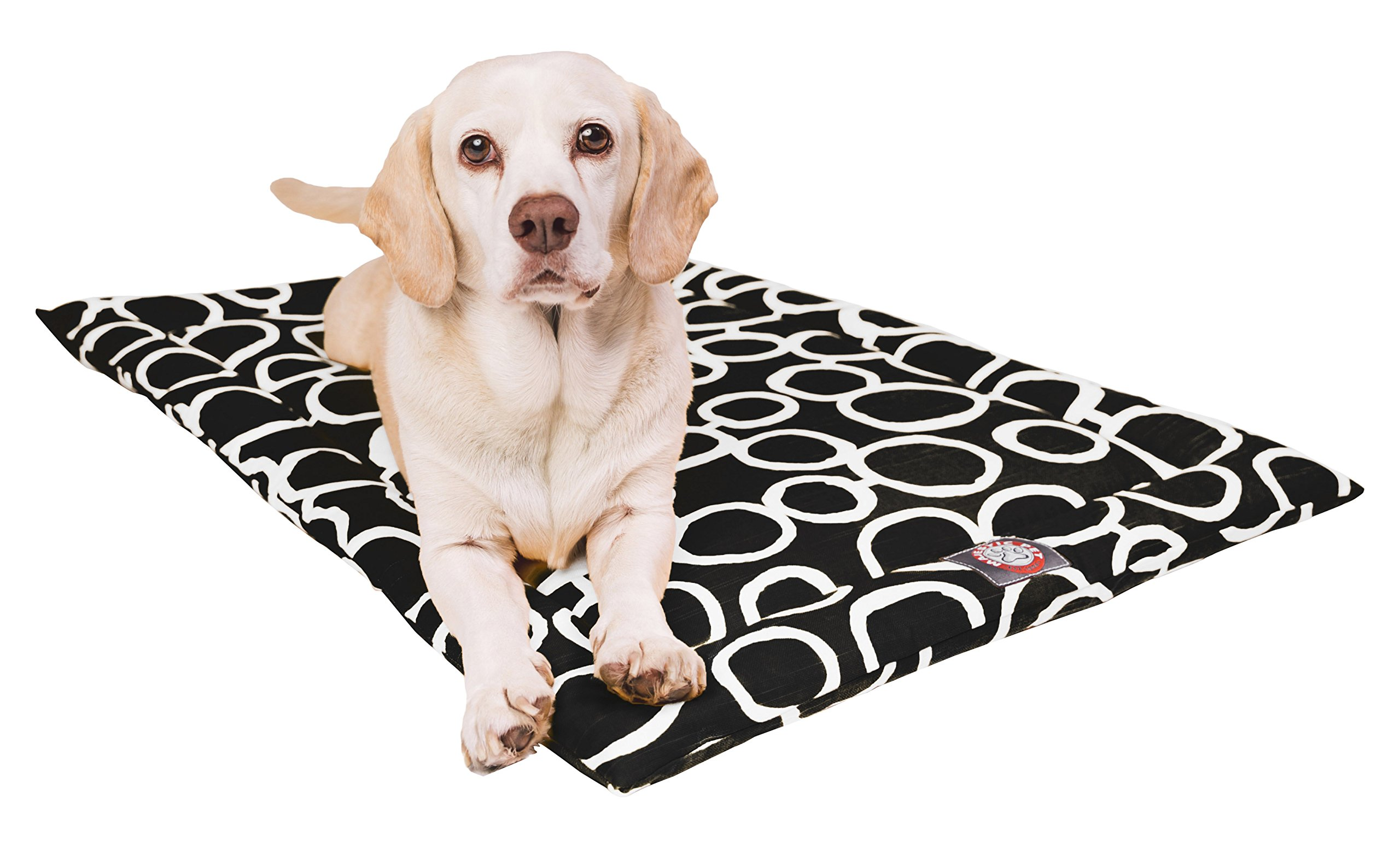 Majestic Pet 42'' Fusion Black Crate Dog Bed Mat Products by Majestic Pet (Image #1)