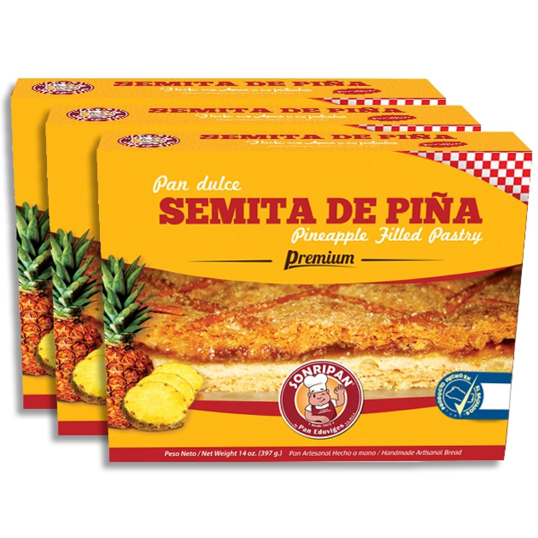 Pineapple Filled Pastry-Semita de Piña: Amazon.com: Grocery & Gourmet Food