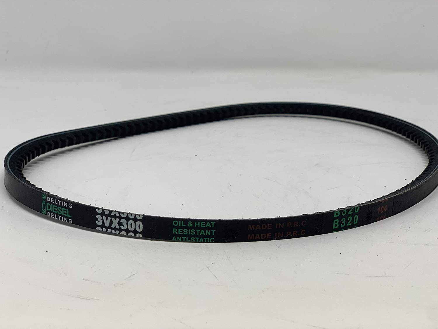 3VX300 V-Belt 3//8in x 30in Outside Circumference Cogged Narrow Wedge