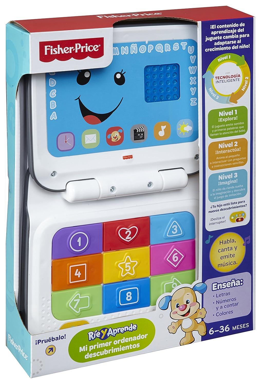 Fisher-Price Mi primer ordenador descubrimiento Mattel CBW18 6 meses juguete beb/é