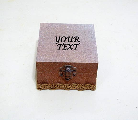 Caja Anillo San Valentín, Regalo San Valentín, Caja Anillo Personalizado, Caja Anillo de
