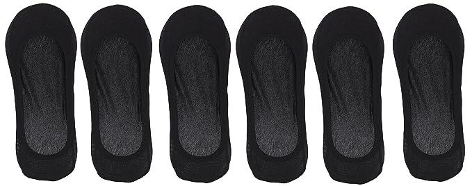 005fceb25d29 Stuck On You Women s Full Silicone Contour Edge Liner Socks (6 Pr) (Black