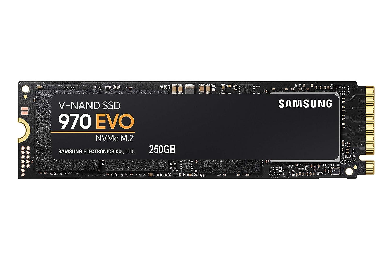 Samsung 970 EVO 250GB - NVMe PCIe M.2 2280 SSD (MZ-V7E250BW)