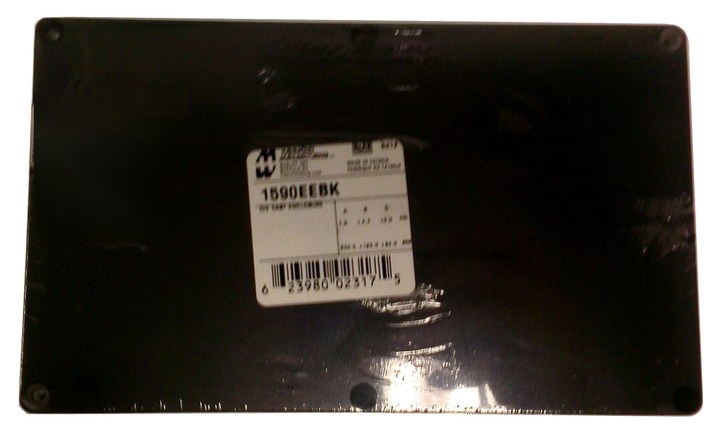 Enclosures, Boxes, & Cases 7.88 x 4.73 x 3.17'' BLACK