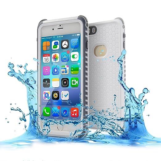 2 opinioni per Custodia Impermeabile per iPhone 7 Plus,TENKER Cover per iPhone 7 Plus,IPX8