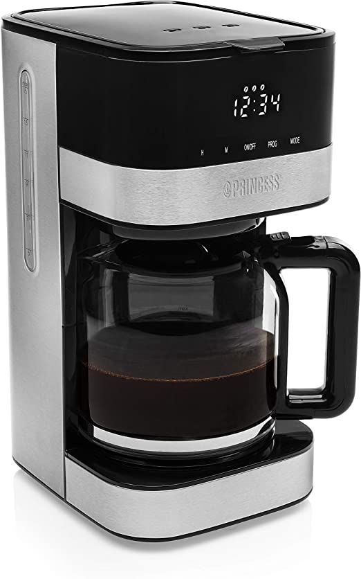 Princess 246011 Cafetera Deluxe Lucca - Filtro removible - 10 a 15 ...