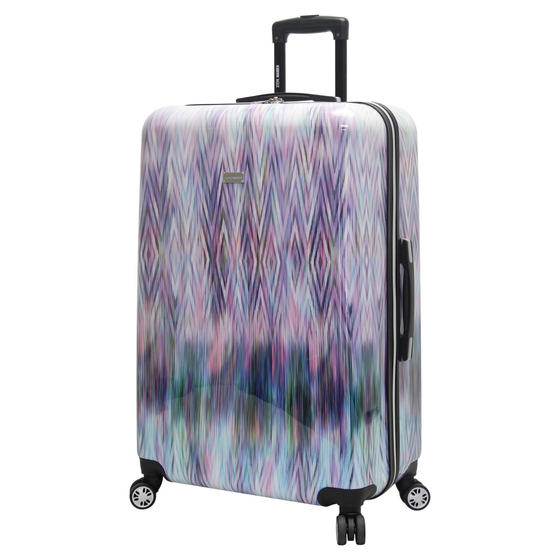 dafd22e0160c Details about Steve Madden Hard Case Luggage 24