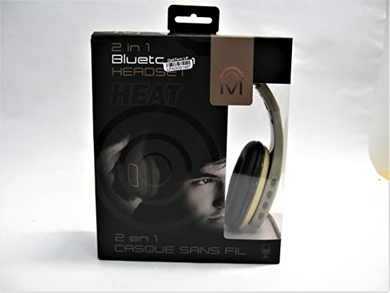 Amazon.com: Mental Beats Heat Over-Ear Bluetooth Headphone - Tan: Cell Phones & Accessories