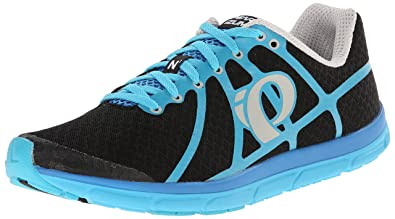 Pearl Izumi Men's EM Road N 1 B,BA Running Shoe, Black,Blue
