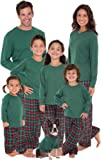 Amazon Price History for:PajamaGram Plaid Flannel Christmas Matching Family Pajamas, Red/Green