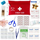 GL Gear Portable First Aid Kit Medical Survival Bag,Mini Emergency Bag for Car,Home,Picnic,Camping,Travelling and Other Outdoor Activies(41pcs/Set),Complete Home Medical Bag,Free Bonus Offered