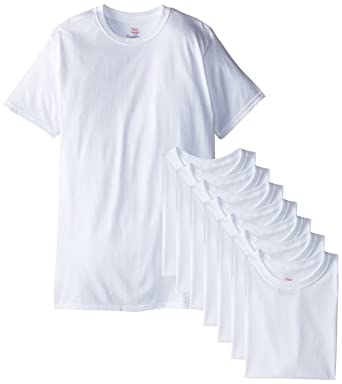 6732f3f0 Amazon.com: Hanes Ultimate Men's 8-Pack Crew T-Shirt: Clothing