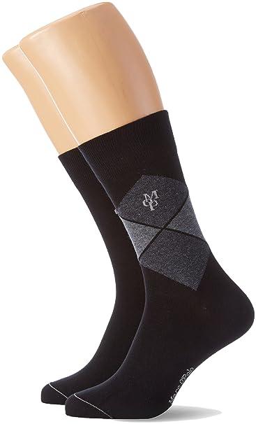 Marc OPolo Body & Beach Legwear Socks 2, Calcetines para Hombre, Multicolor
